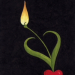 Love's heart / Kjærlighetens hjerte
